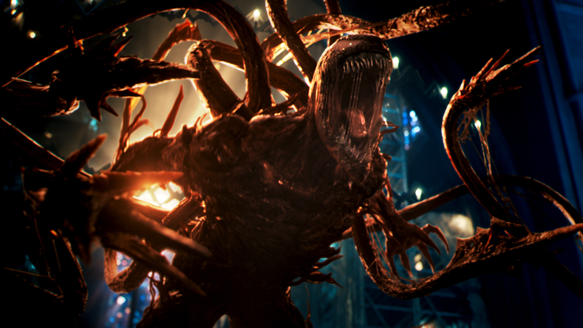 Carnage in VENOM: LET THERE BE CARNAGE.